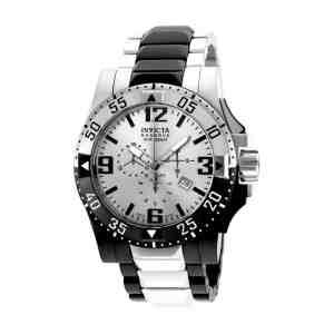 Pánské hodinky INVICTA Excursion Silver Black White