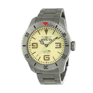 Pánské hodinky INVICTA Pro Diver Gun Yellow