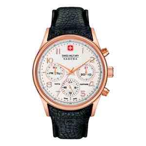 Pánské hodinky SWISS MILITARY HANOWA Navalus Multifunction Rose Gold