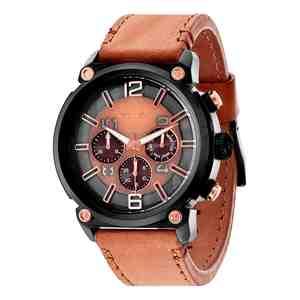 Pánské hodinky POLICE Armor Brown