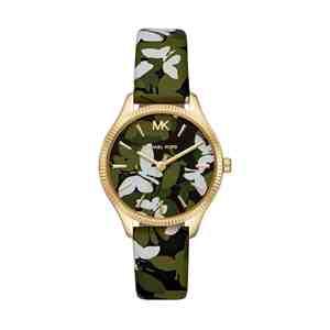 Dámské hodinky MICHAEL KORS Lexigton Gold Green