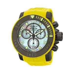 Pánské hodinky INVICTA Sea Hunter Yelow Black