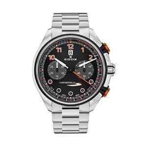 Pánské hodinky EDOX Chronorally-S Black Orange
