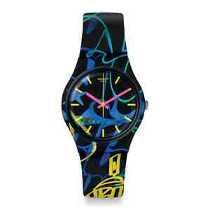 Unisex hodinky SWATCH Nightclub GB318