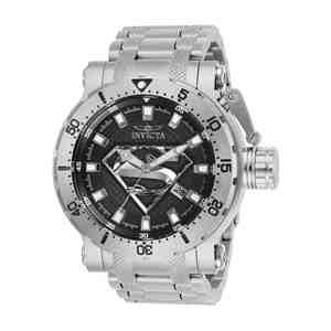 Pánské hodinky INVICTA DC Comics Superman Silver&Black
