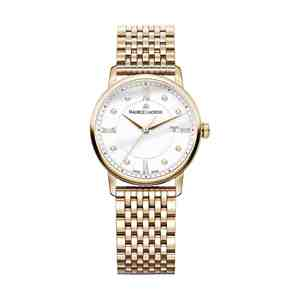 Dámské hodinky MAURICE LACROIX Eliros Gold White