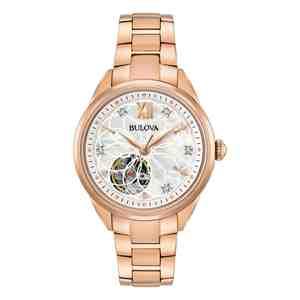 Dámské hodinky BULOVA Sutton Diamond Automatic 97P121