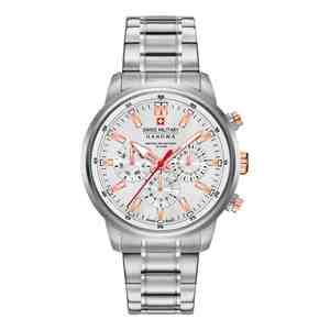 Pánské hodinky SWISS MILITARY HANOWA Horizon Multifunction White
