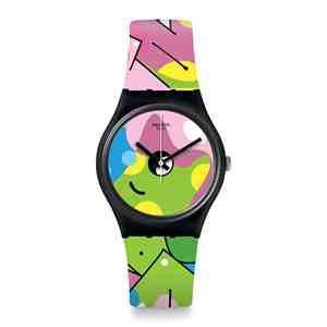Unisex hodinky SWATCH Image of Graffiti GB317