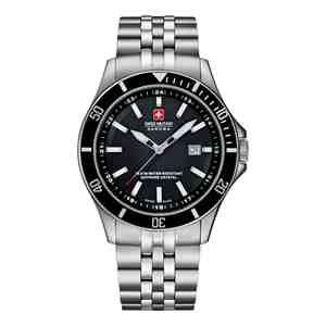 Pánské hodinky SWISS MILITARY HANOWA Flagship Black