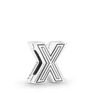 Klip PANDORA Reflexions písmeno X