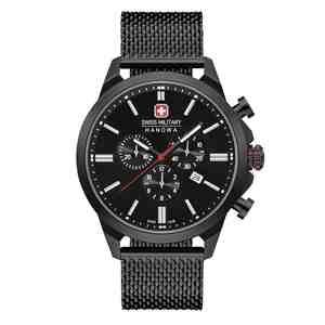 Pánské hodinky SWISS MILITARY HANOWA Chrono Classic II Black