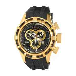 Pánské hodinky INVICTA Bolt Gold Black