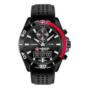 Pánské hodinky SWISS MILITARY HANOWA Multimission Black