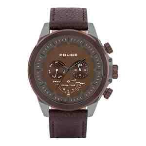 Pánské hodinky POLICE Belmont Brown