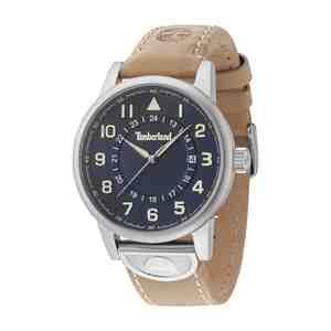 Pánské hodinky TIMBERLAND Cohasset Brown Leather Strap