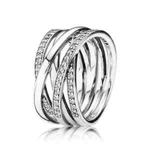 Prsten PANDORA Propletený