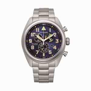 Pánské hodinky CITIZEN Super Titanium Chrono AT2480-81L