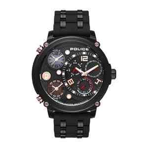 Pánské hodinky POLICE Sagano Black
