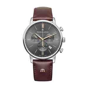 Pánské hodinky MAURICE LACROIX Eliros Silver Grey Brown