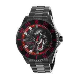 Pánské hodinky INVICTA Marvel Venom Black Red