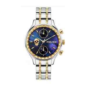 Dámské hodinky POLICE Banff Silver Gold