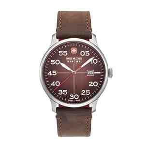Pánské hodinky SWISS MILITARY HANOWA Active Duty Brown