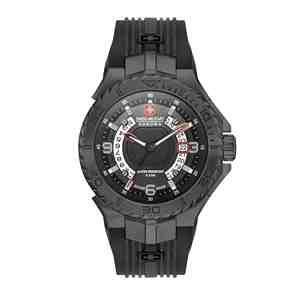 Pánské hodinky SWISS MILITARY HANOWA Seaman Black
