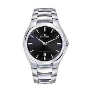 Pánské hodinky EDOX Les Bémonts Silver Black