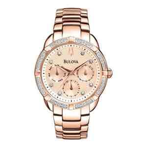 Dámské hodinky BULOVA Sutton Diamond Multifunction 98W178
