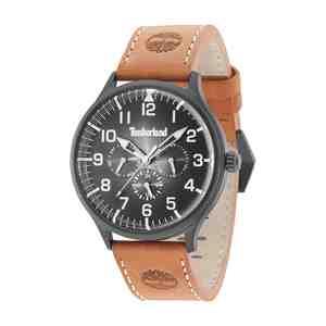 Pánské hodinky TIMBERLAND Blanchard Brown Leather Strap