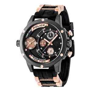 Pánské sportovní hodinky POLICE Adder Black