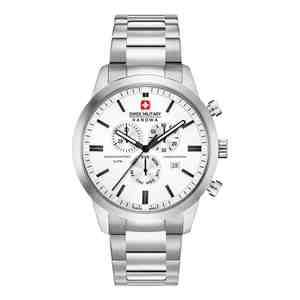 Pánské hodinky SWISS MILITARY HANOWA Chrono Classic White