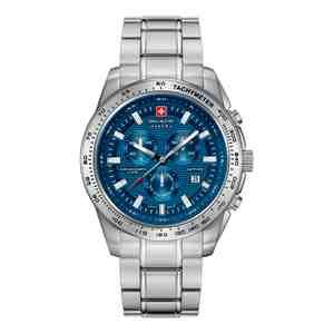 Pánské hodinky SWISS MILITARY HANOWA Crusader Silver Blue