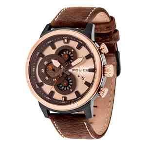 Pánské hodinky POLICE Explorer Brown _S