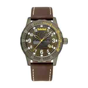 Pánské hodinky TIMBERLAND Clarksburg Brown Leather Strap