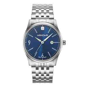 Pánské hodinky HANOWA Carlo Classic Silver Blue