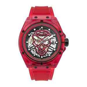 Pánské hodinky POLICE Translucent Red