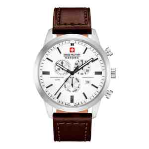 Pánské hodinky SWISS MILITARY HANOWA Chrono Classic Brown