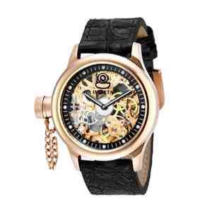 Pánské hodinky INVICTA Russian Diver Rose Gold Black