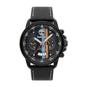 Pánské hodinky TIMBERLAND Brodshaw Black Leather Strap