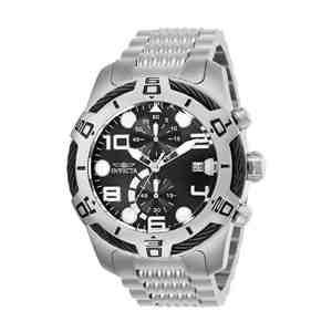 Pánské hodinky INVICTA Bolt Silver Black