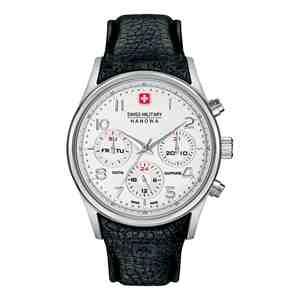Pánské hodinky SWISS MILITARY HANOWA Navalus Multifunction Black