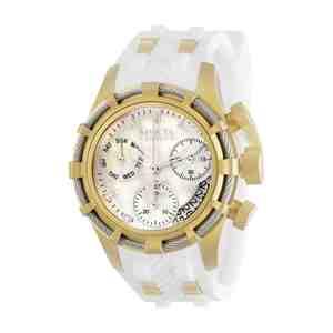Dámské hodinky INVICTA Reserve Bolt Gold White