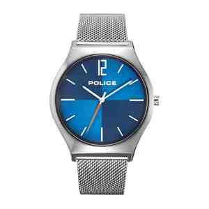 Pánské hodinky POLICE Orkneys Silver Blue