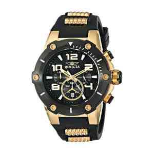 Pánské hodinky INVICTA Speedway Men Gold Black