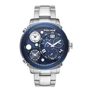 Pánské hodinky POLICE Sagano Silver