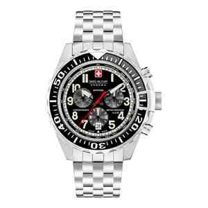 Pánské hodinky SWISS MILITARY HANOWA Touchdown Chrono Black