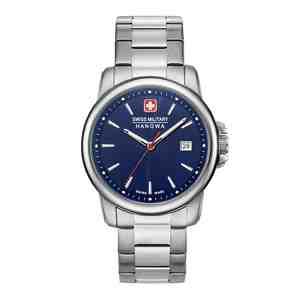 Pánské hodinky SWISS MILITARY HANOWA Swiss Recruit II Blue