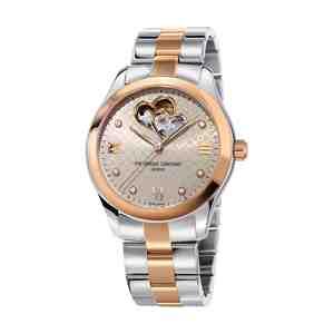 Dámské hodinky FREDERIQUE CONSTANT Automatic Silver Rose Gold